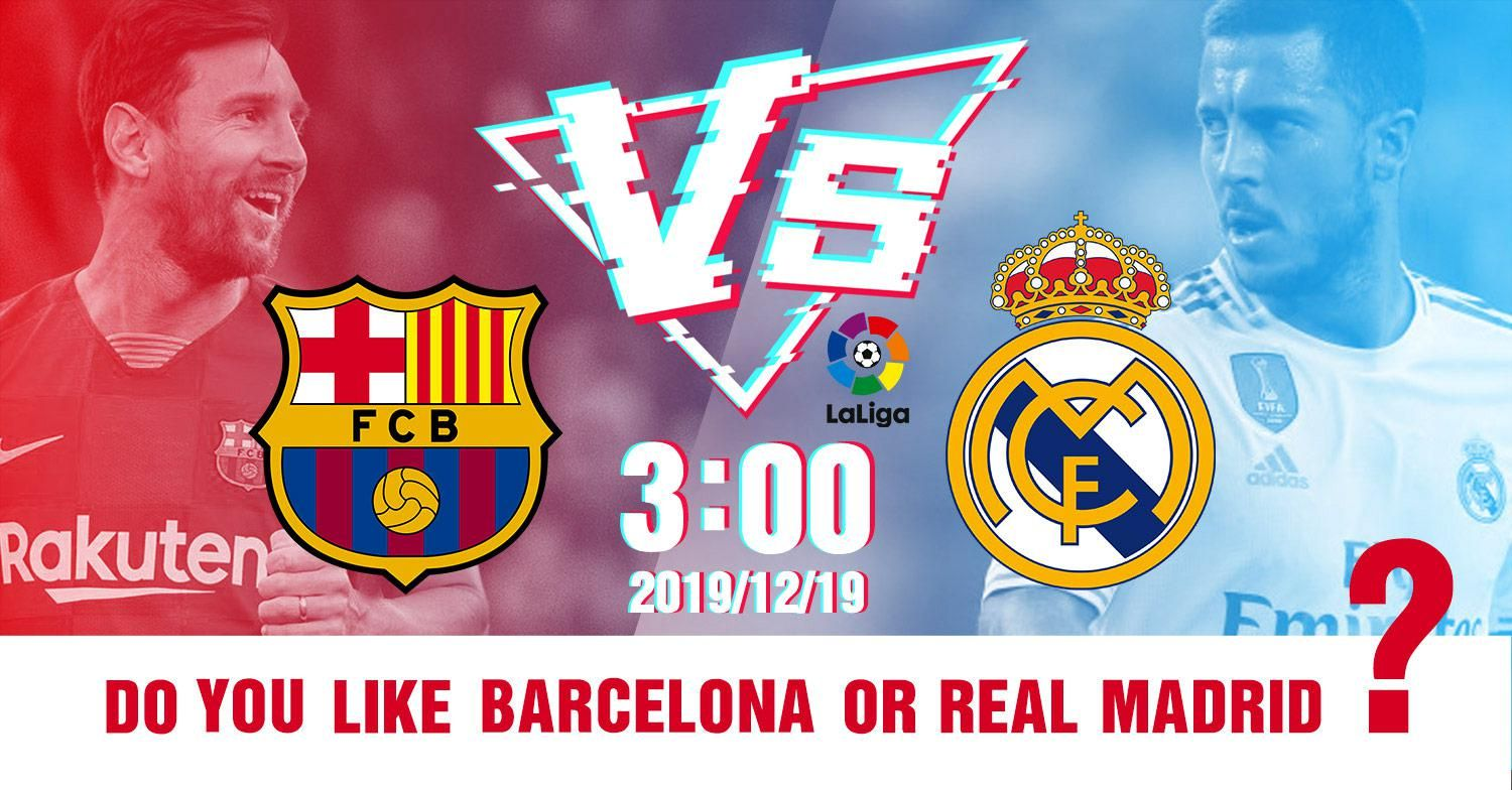 The 64 000 Question Who Will Win Barcelona Vs Real Madrid Real Madrid Real Madrid Win