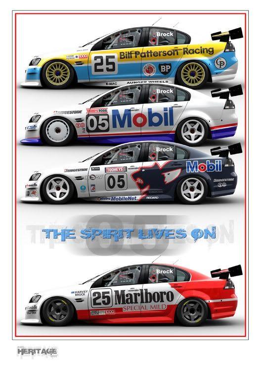 2005 V8 Supercars Bathurst Mount Panorama Liveries Print 003 Super Cars Australian Cars Ford Racing