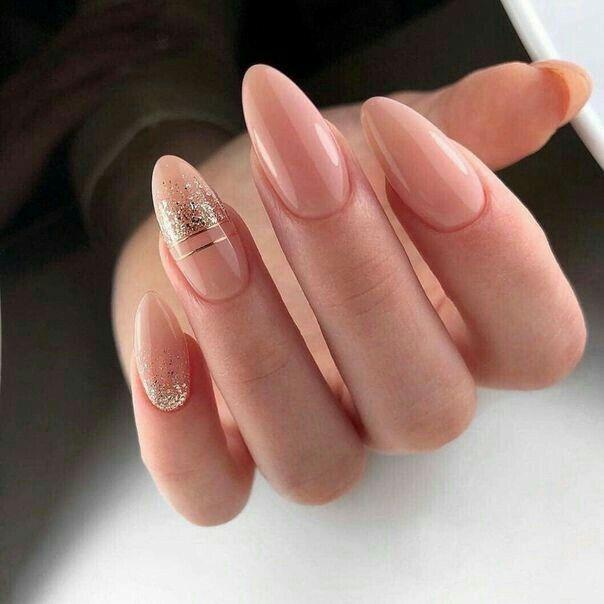 Pin By Brandy Zaragoza On Neutral Nails Bridal Nail Art Pink Nails