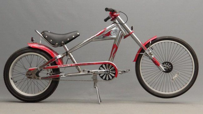 Schwinn Sting Ray Chopper Bicycle Apr 16 2016 Copake Auction Inc In Ny Schwinn Bicycle Chopper