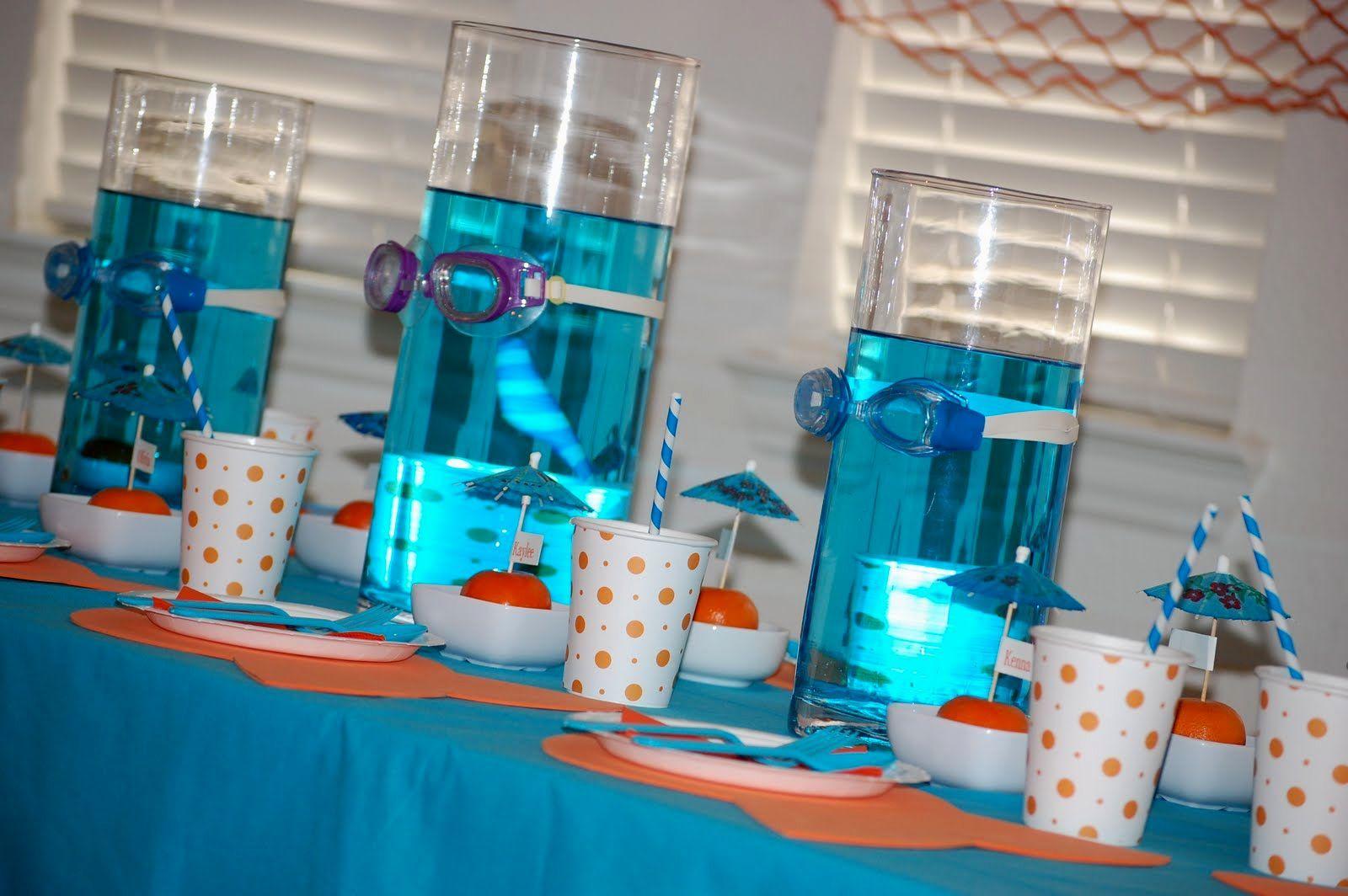 Under The Sea Party Decorating Avec Images Faire La Fete
