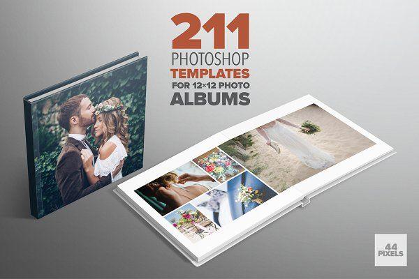 Photoshop templates for 12x12 albums | Capas de álbuns ...