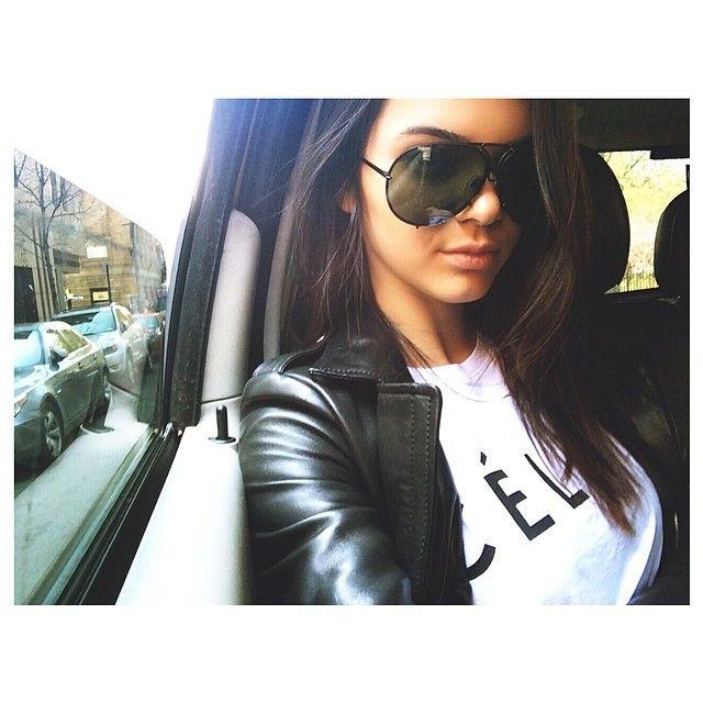 38b364b9e7e6 Kendall Jenner wearing Porsche Design P8478 Sunglasses