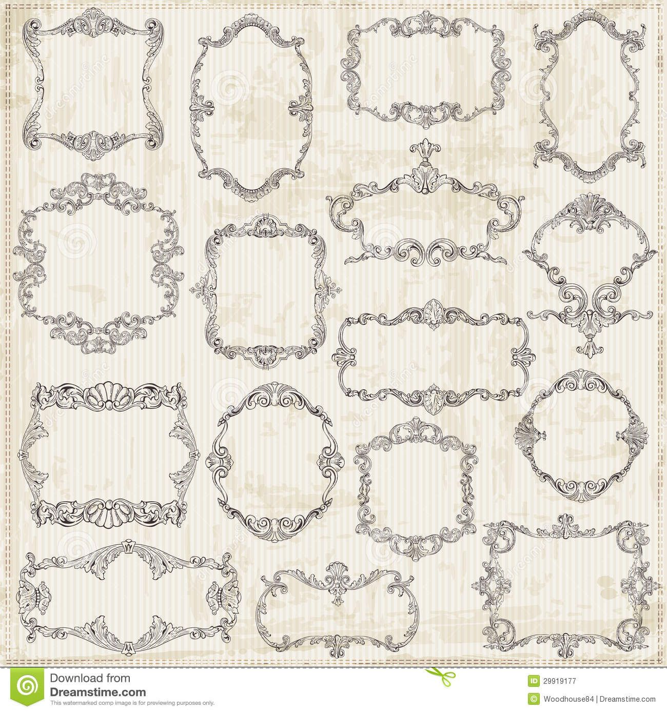 decoracion de margenes para hojas vintage - Google Search ...