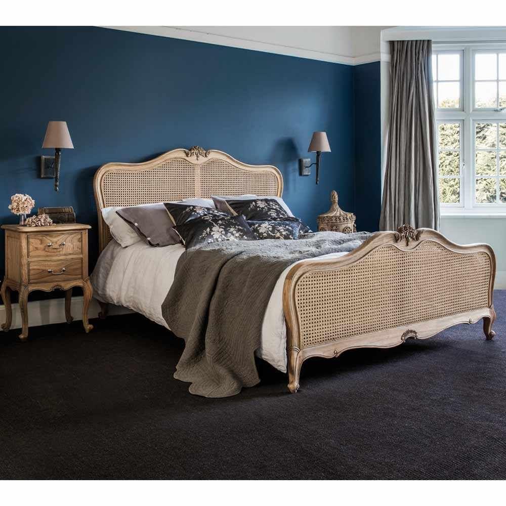 Montgomery Rattan Bed Decoracion de interiores