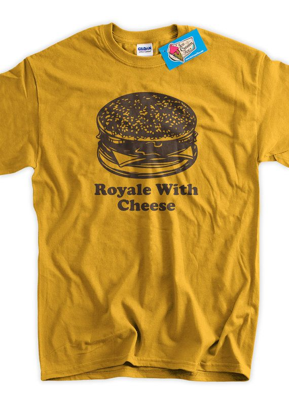Funny Burger T-Shirt Classic Movie Cheese Burger - Screen Printed T-Shirt  Tee Shirt T Shirt Mens La 00b7a2ef73