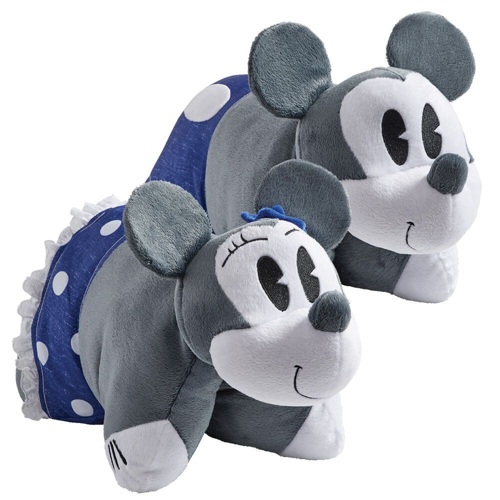 Denim mickey mouse and minnie mouse animal pillows pets