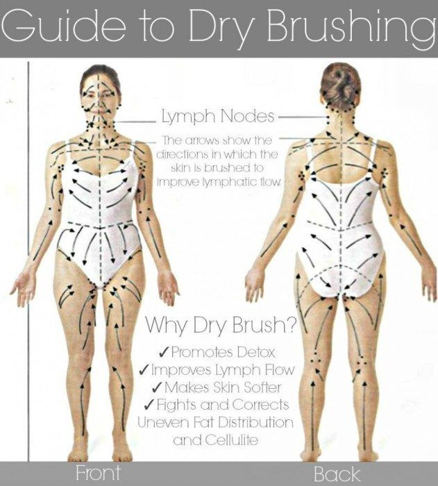 Dry Skin Brushing Guide: Rejuvenate your skin, fight cellulite, improve circulation and strengthen your immune system. Description from pinterest.com. I searched for this on bing.com/images
