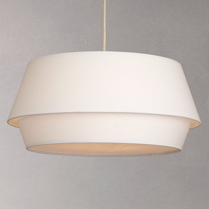 House By John Lewis Lisbeth Easy To Fit Ceiling Shade White Bedroom Ceiling Light Ceiling Shades Ceiling Lights