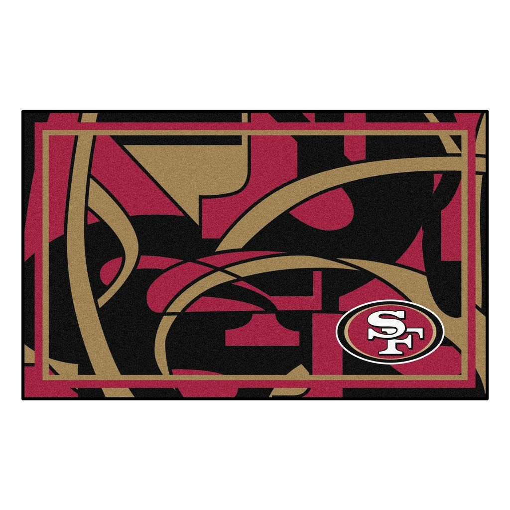 "NFL - San Francisco 49ers 4x6 Rug 44""x71"" 