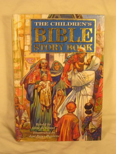 Childrens-Bible-Story-Book-Anne-De-Graaf-Tommy-Nelson-Reading-Level-3rd-5th-Gr