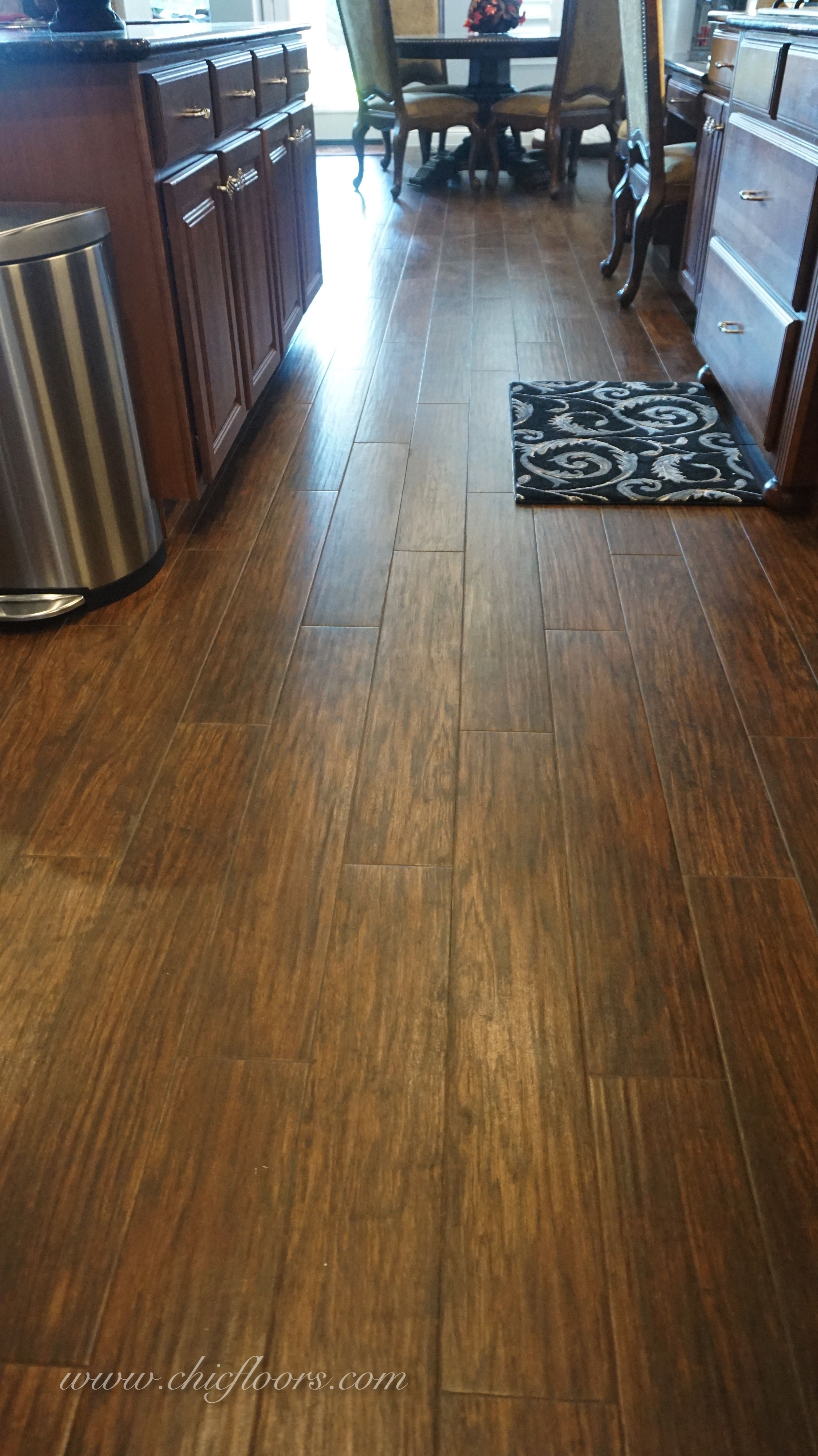 Shaw Floors Petrified Hickory 6x36 Porcelain Tile In The Color 700