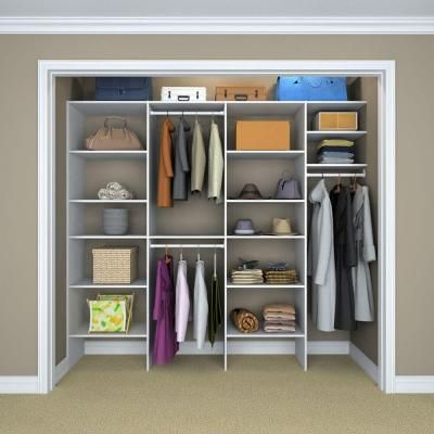 ClosetMaid Selectives 8 ft  - 12 ft  14 5 in  D x 74 425 in