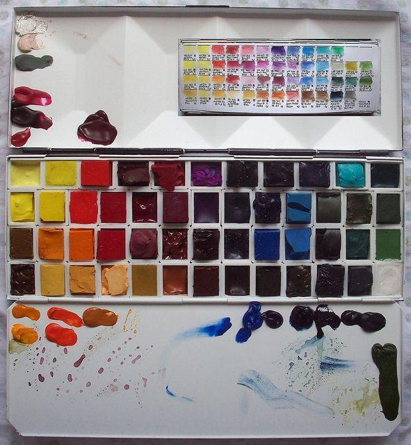 The Uber Palette Die Mega Palette Art Journal Inspiration
