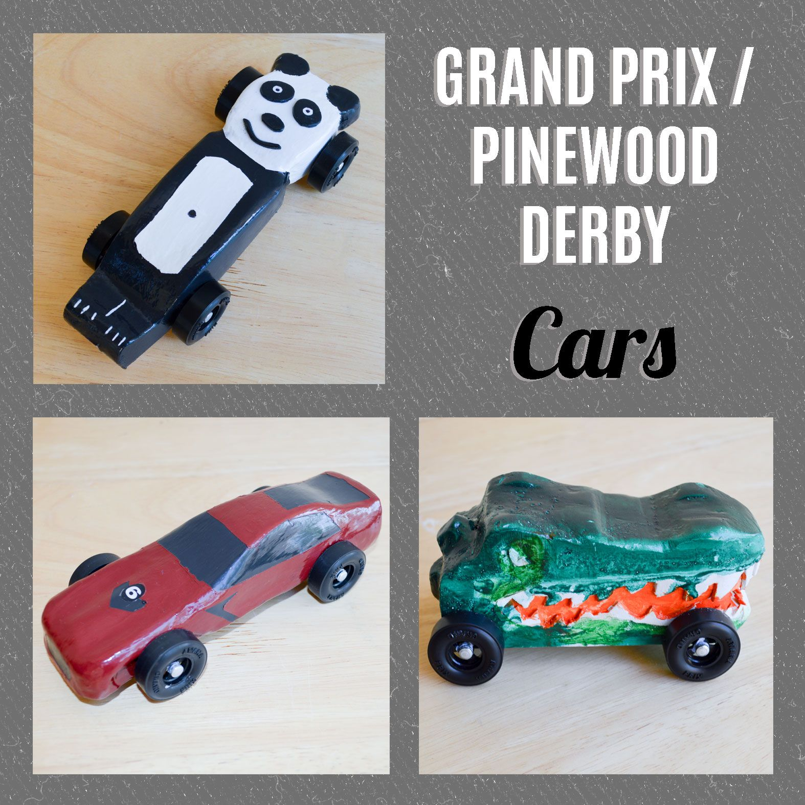 This year I ended up making three cars for the Awana Grand Prix ...
