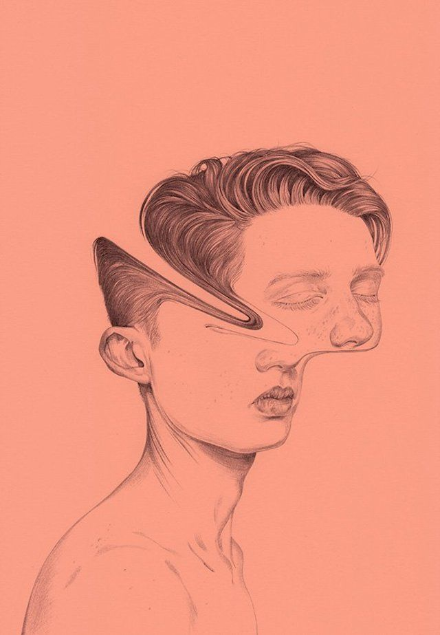 Deconstructed portraits by Henrietta Harris - artist -  Deconstructed portraits by Henrietta Harris  - #artdesign #artdrawings #artist #bodyart #Deconstructed #Harris #Henrietta #Portraits