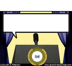 persuasive speech topic generator