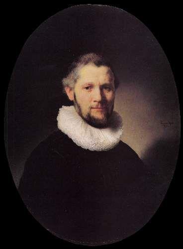 Portrait of a man 3 by Rembrandt