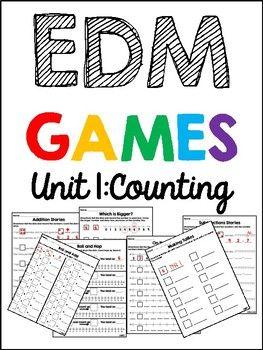 Edm 4 Unit 1 Math Games 1st Grade Everyday Math Everyday