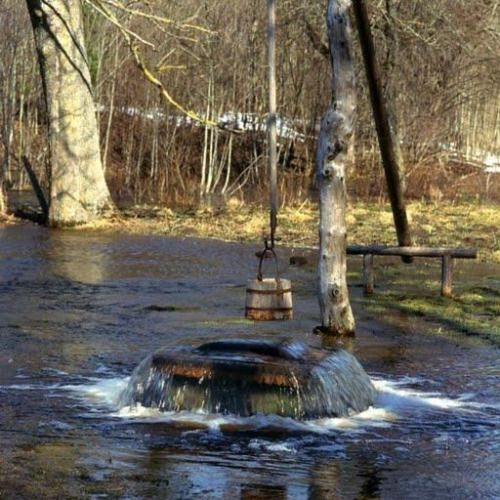 """The """"Witches' Well"""", located in Tuhala in northern Estonia, can often """"boil"""" over like a cauldron, hence the name. The famous well is known to start spouting up water during the heavy spring thaw."""