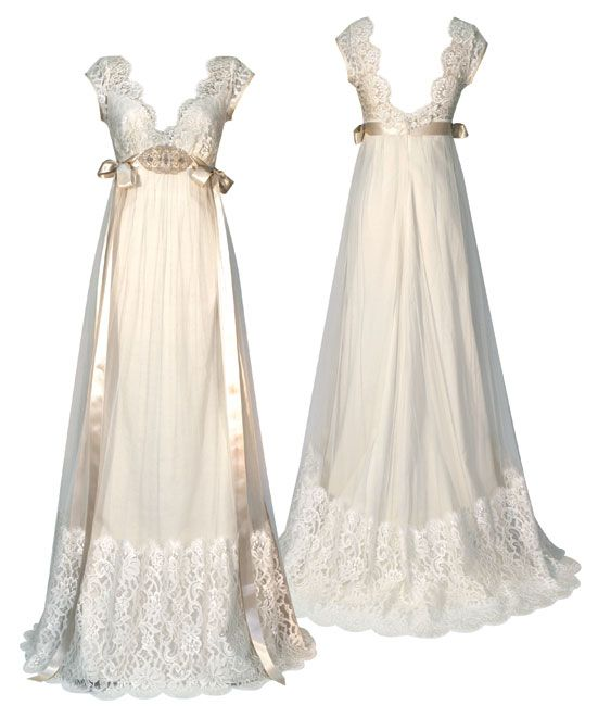 Claire Pettibone vintage inspired wedding dress | dresses ...