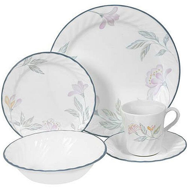 Casual Dinnerware For Less. Corelle DishesDinnerware ...  sc 1 st  Pinterest & li\u003eCorelle Impressions dinnerware set features superior ...
