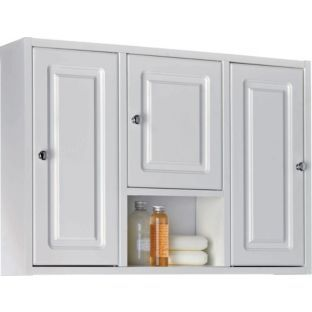 Buy Large Wood 3 Door Bathroom Medicine Cabinet White At Argos Co Uk