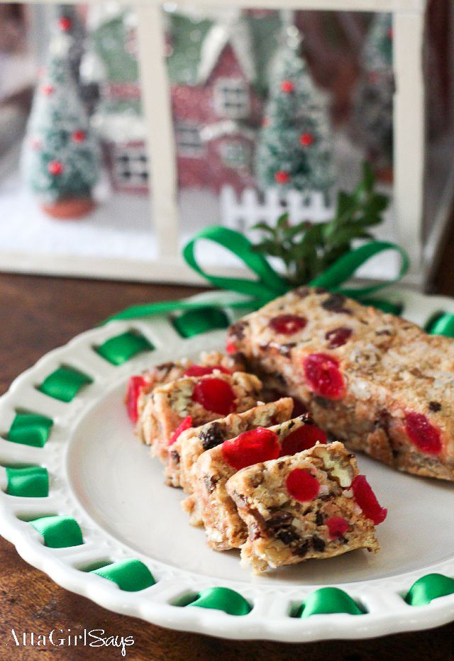 this no bake icebox fruit cake recipe will change your mind about christmass most maligned dessert youll love this fruity and nutty version made with