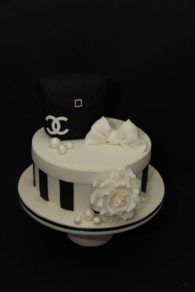 Cieska's chanel cake   by MyCakes.com.au