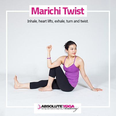 22 marichi twist  vinyasa yoga poses yoga poses vinyasa