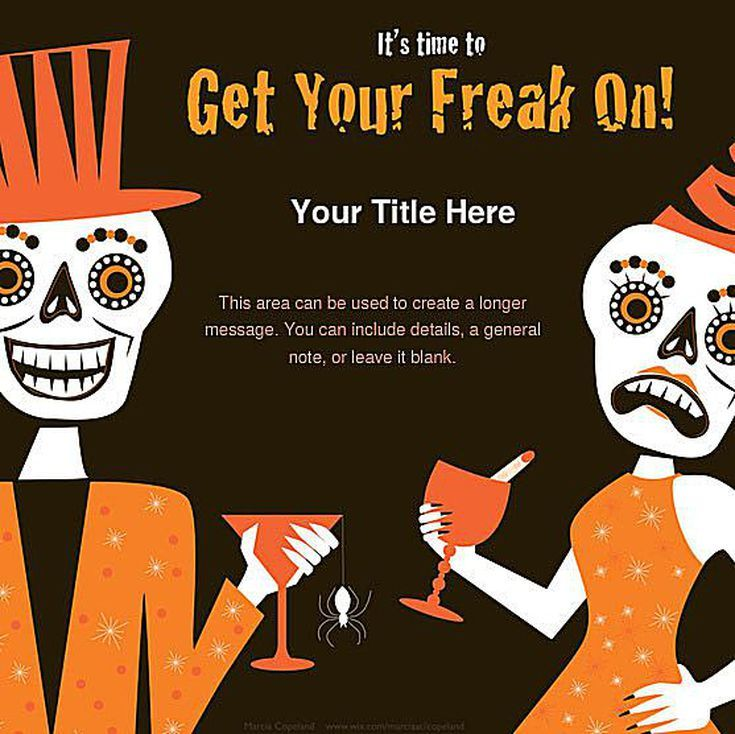 Invite Everyone to Your Halloween Party With These Free Online - invitation for halloween party