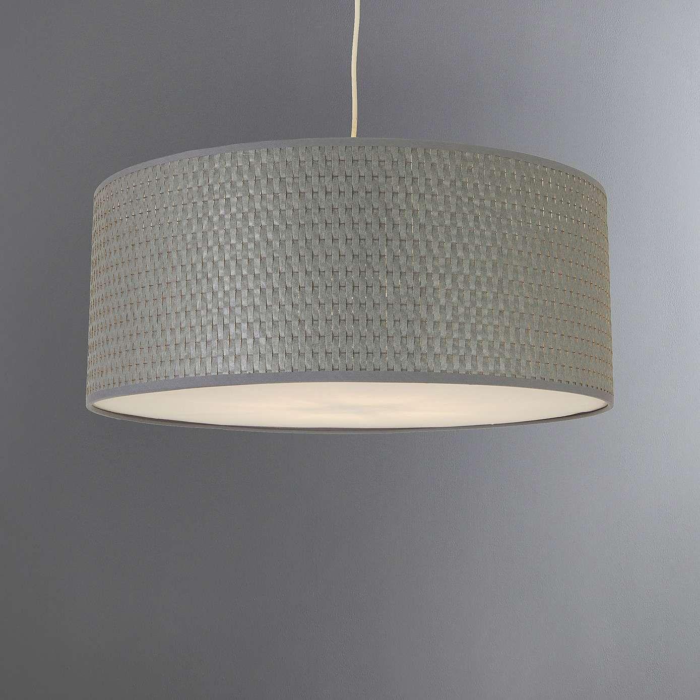 Bailey Grey 45cm Pendant Shade Dunelm Gray Pendant Light Shades