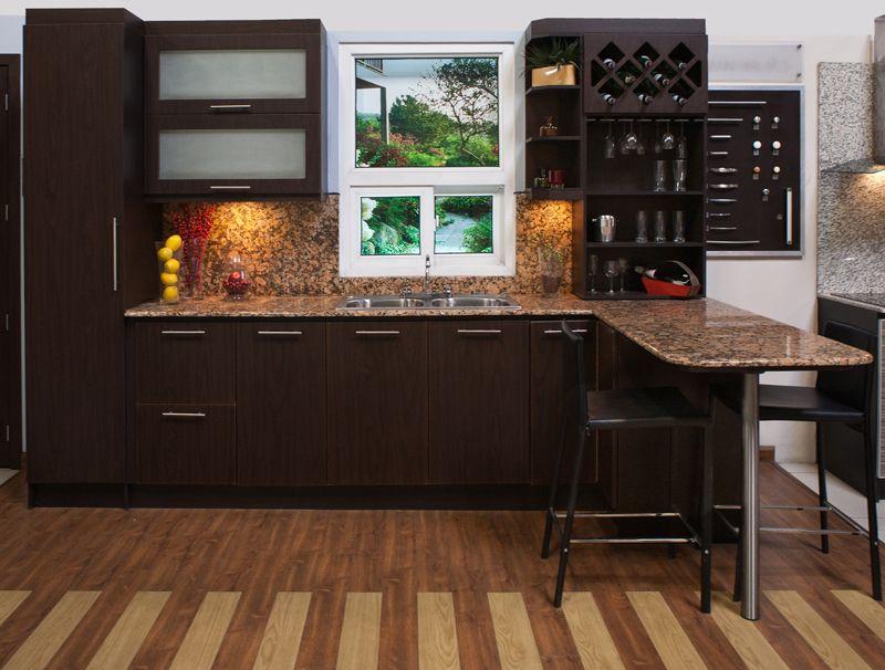 La cocina estoril pvc le dar elegancia a su ambiente por for Como hacer una cocina moderna