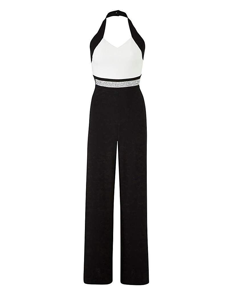 6164274ebf4 Joanna Hope Bead Trim Jumpsuit