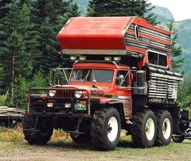Weird Rvs Monster Truck Camper Goes Anywhere Trucks Jeep Truck