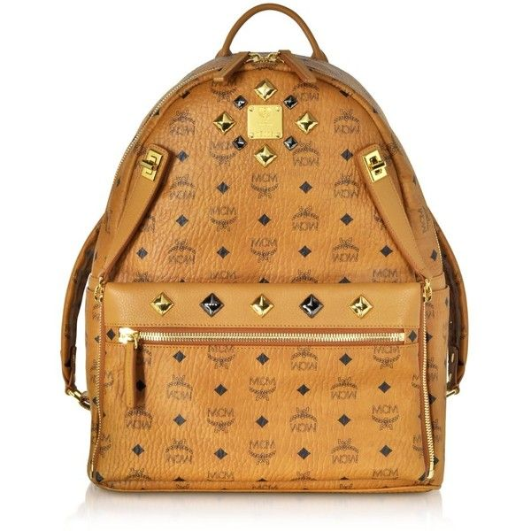 MCM Handbags, Cognac Stark Medium Belt Bag