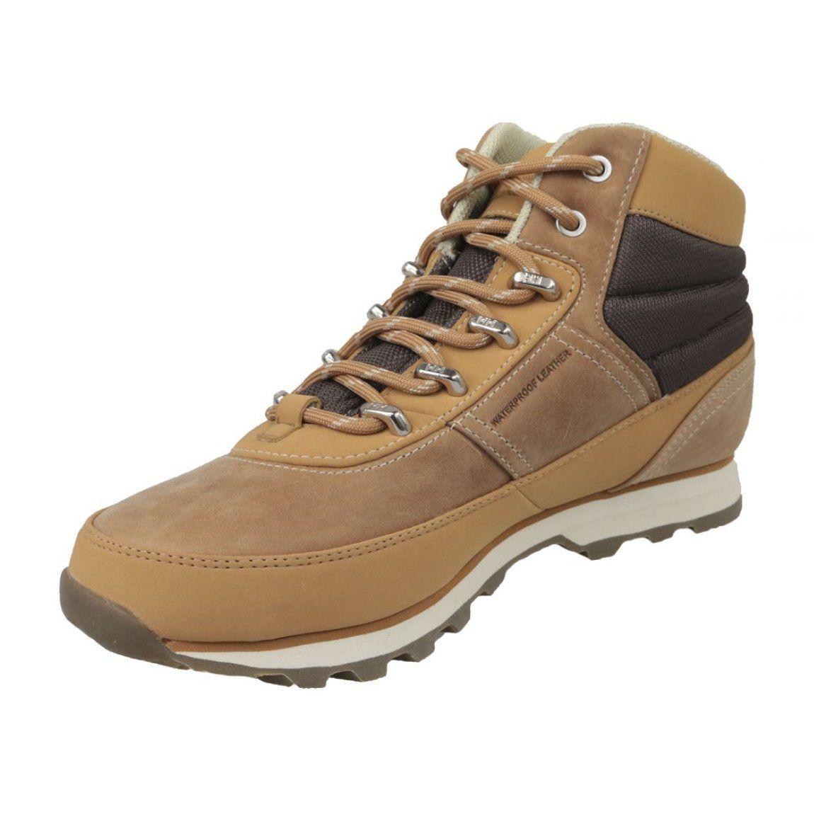 Buty Helly Hansen Woodlands W 10807 726 Brazowe Nubuck Leather Women Shoes Helly Hansen