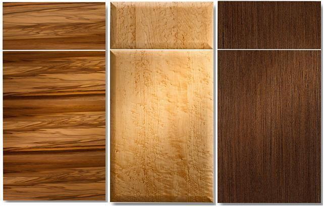 Wood Veneer Kitchen Cabinet Doors | Bryco Sales