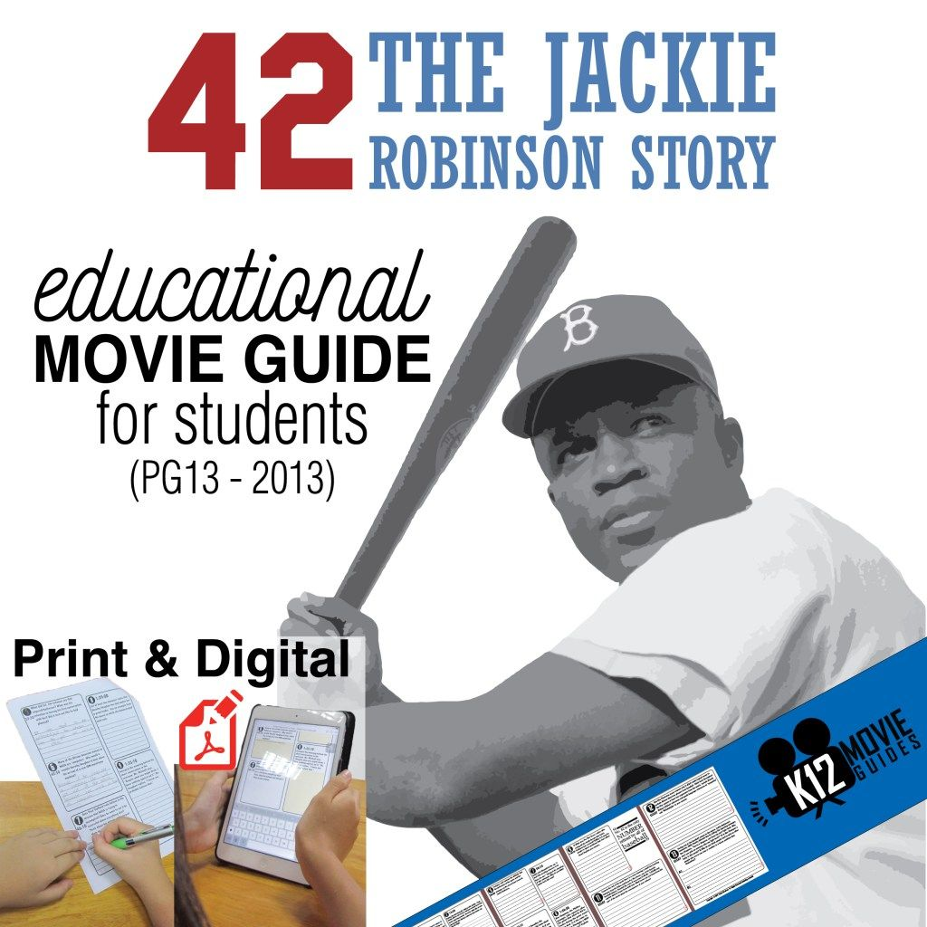 42 The Jackie Robinson Story Movie Guide