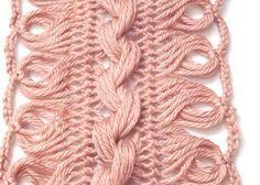 Ponto Crochet »Blog Archive» Técnica Crochet: Lace Hairpin - Parte 1 - padrões de crochet, Tutoriais e Notícias