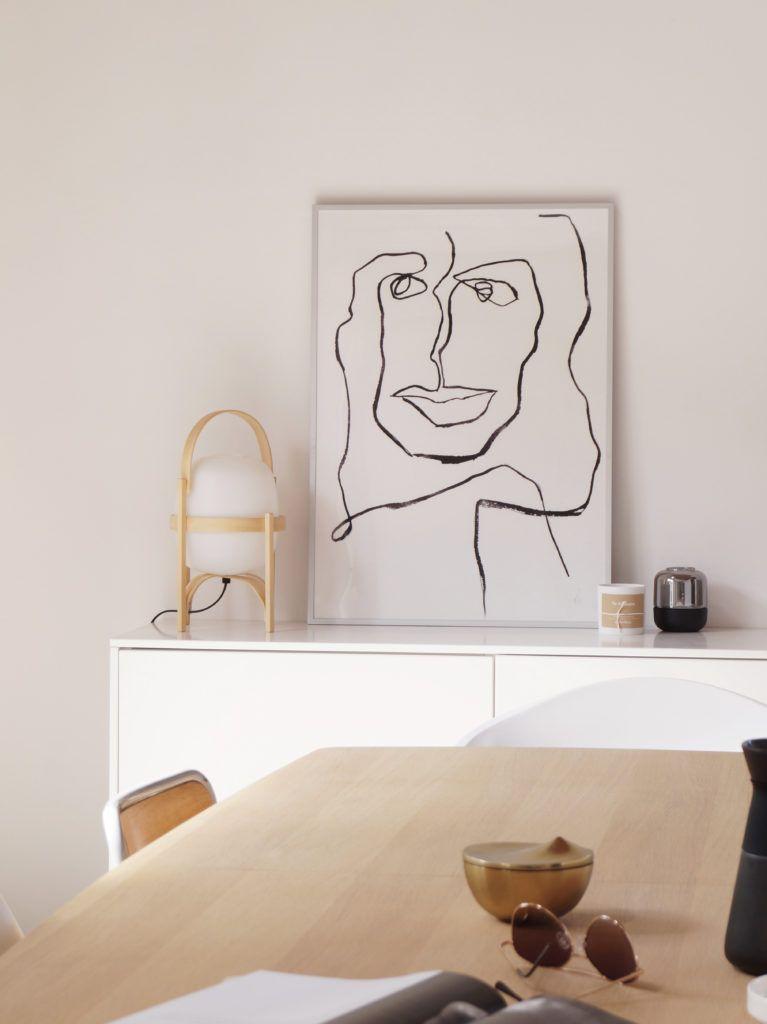 Line drawing poster by Mette Handberg (Hege in France) | Living ...
