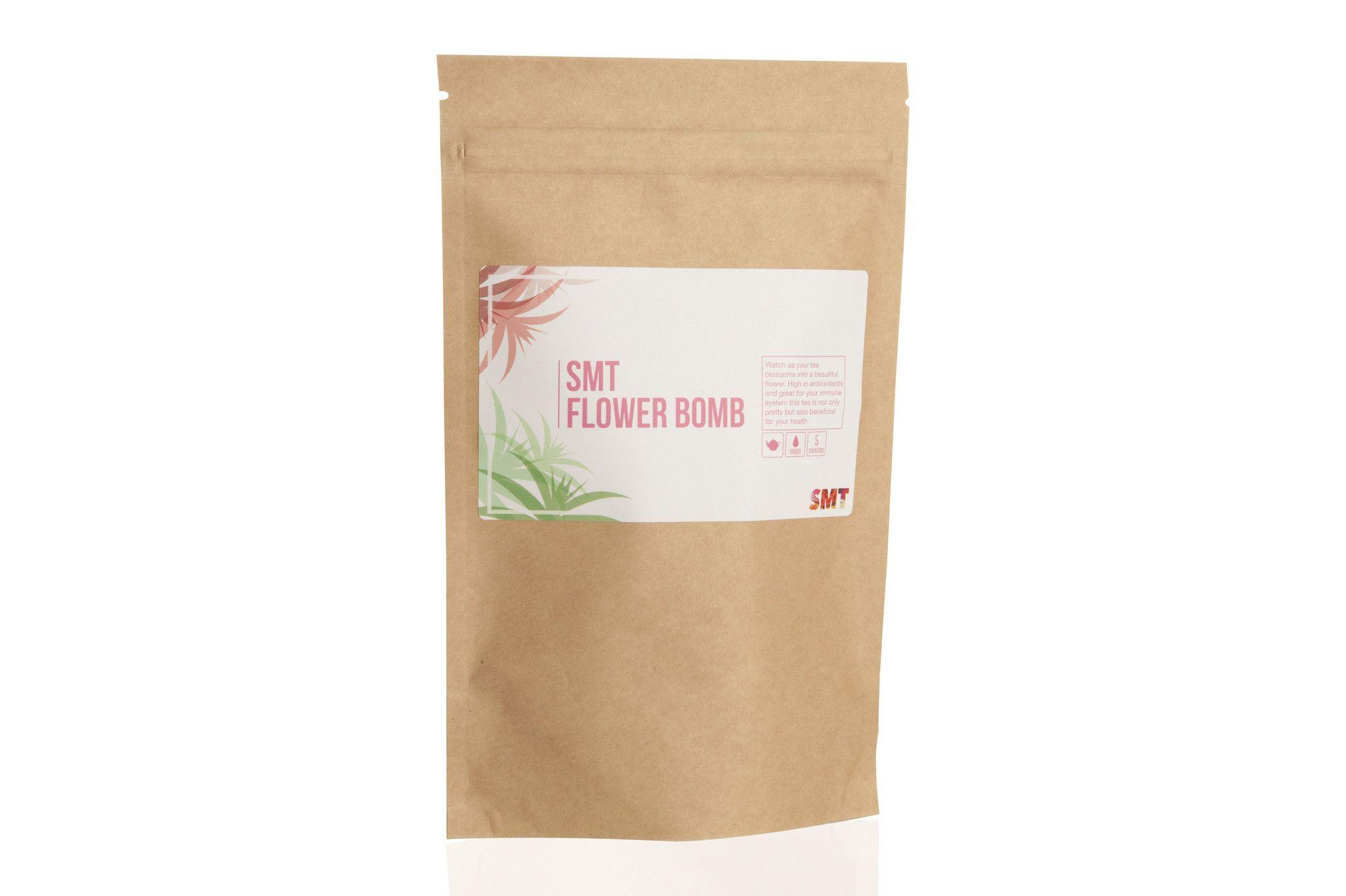 Flower bomb tea