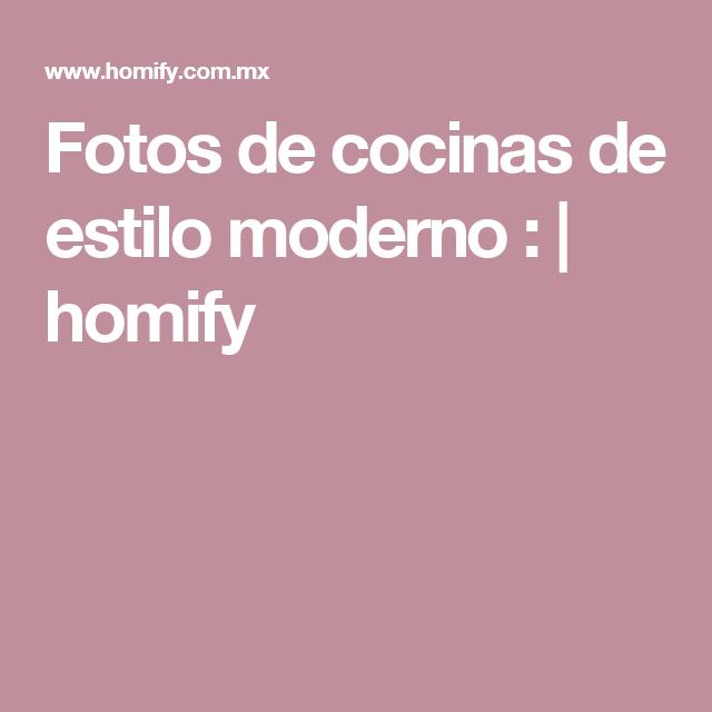 Fotos de cocinas de estilo moderno :  | homify