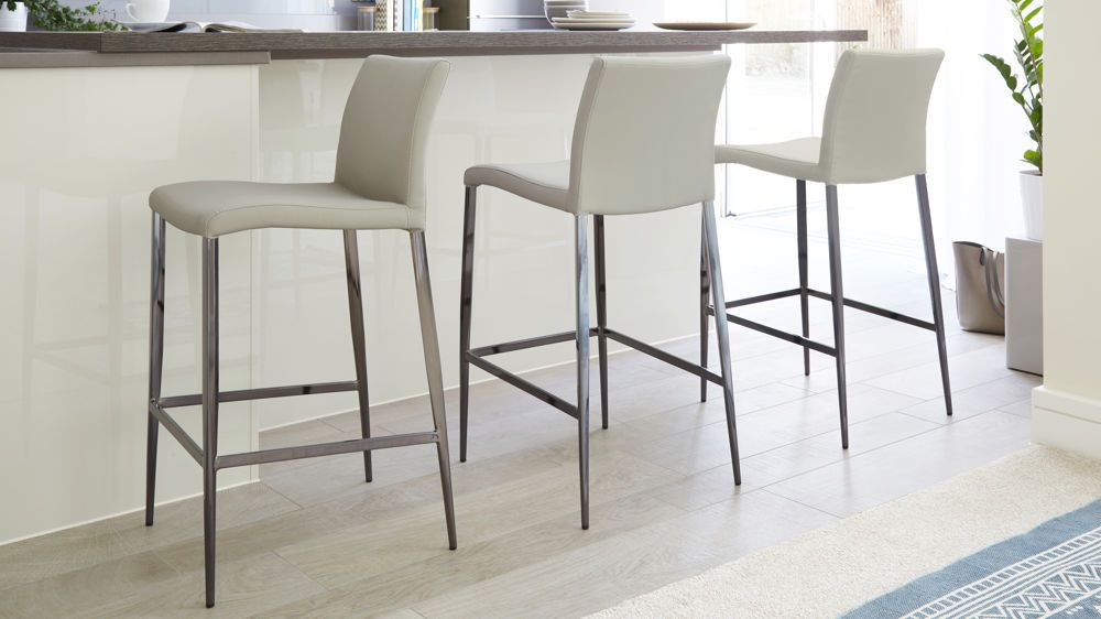 Excellent Elise Black Chrome Bar Stool In 2019 Danetti Black Caraccident5 Cool Chair Designs And Ideas Caraccident5Info