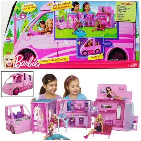 Barbie Sisters Deluxe Camper Only $74.94 Shipped #hotdeals #barbie #giftguide
