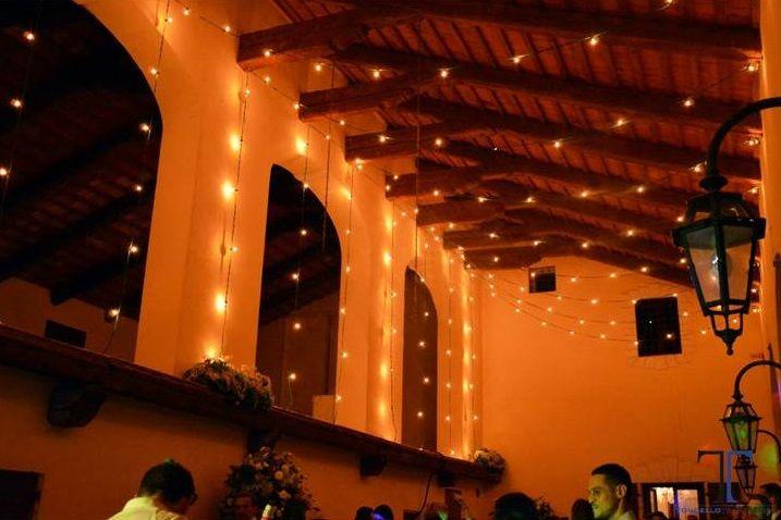 Matrimonio inglese villa il palazzon illuminazione