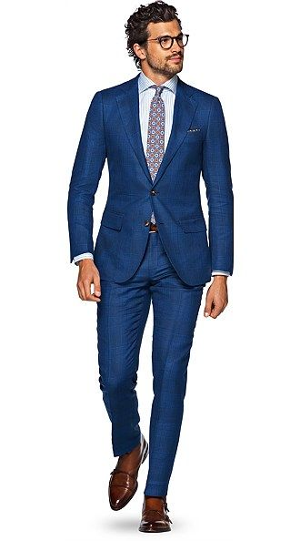 clearance hot-selling real release info on Lazio Blue Check | Wedding in 2019 | Summer wedding suits ...