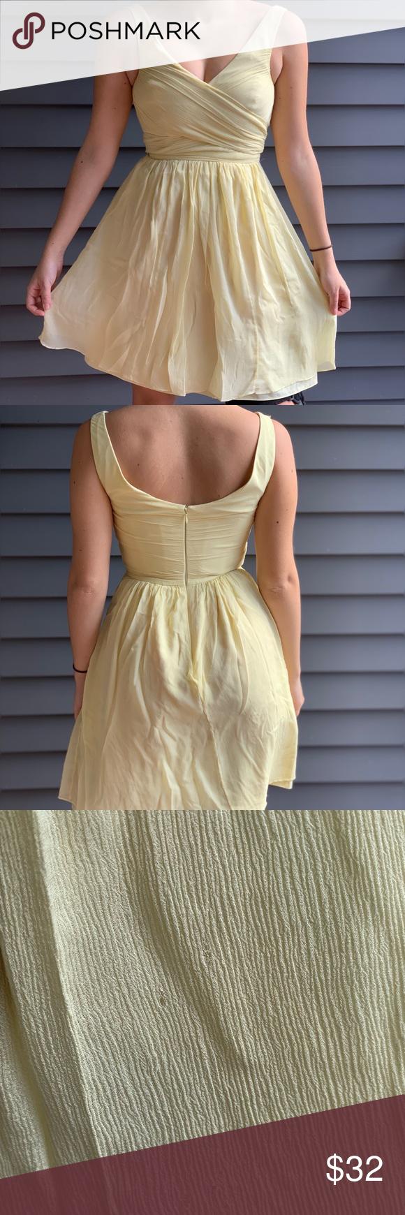 Jew size pale yellow dress my posh picks pinterest