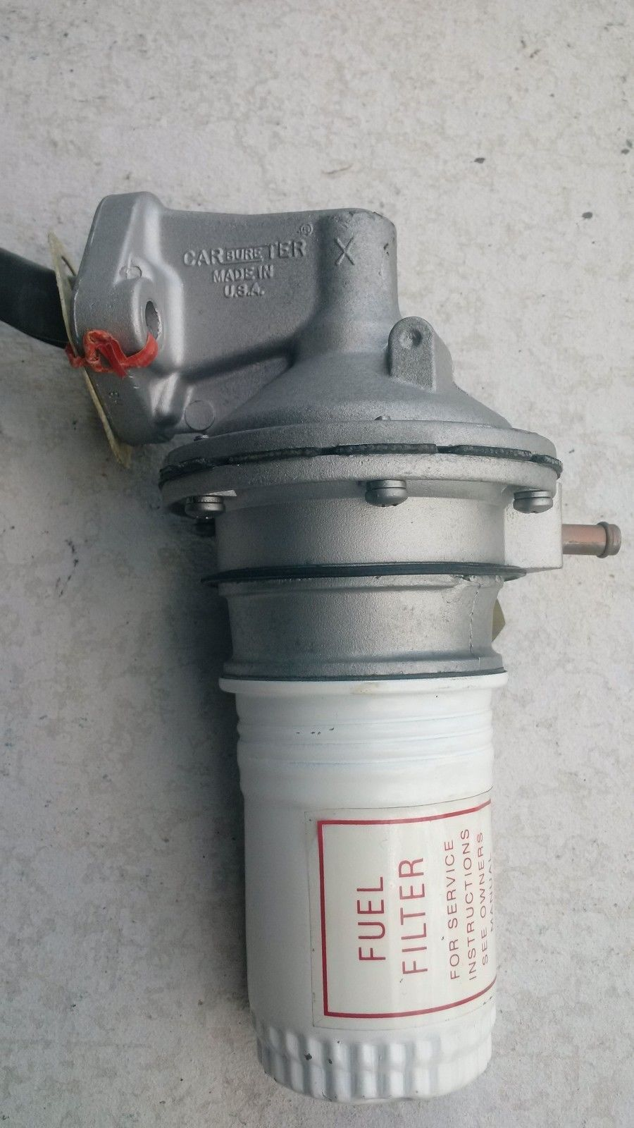 medium resolution of ford 260 289 289 hipo carter x fuel pump 1963 67 mustang shelby k code ebay