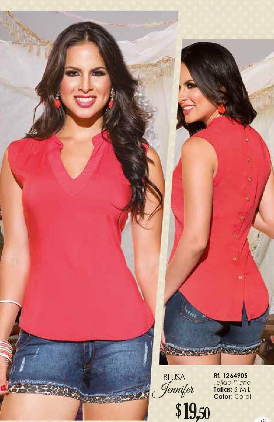 Campana 11 Mistika Blusas Mujer Moda Casual Mujer Blusas Juveniles Moda